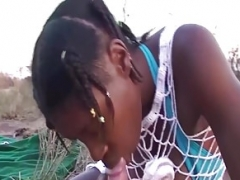 Africain, Orgie, De plein air