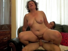 Granny sex with student