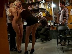 Lorelei gets humiliated and additionally fucked by a stranger