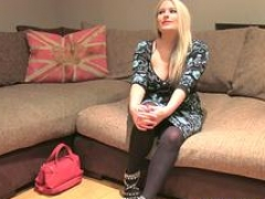 Boobalicious casting brit dickriding reversecowgirl