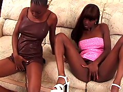 Twins Mocha and additionally Chocolate Love White Cock