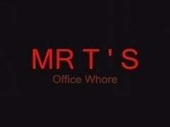 Mr. Bonds British Blonde Office Slut
