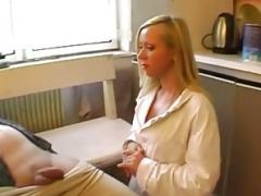 Blonde Dutch Kitten Kitchen Bang Rough Hard Sex