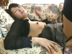 Hot Japanese Wife Squirting On T...