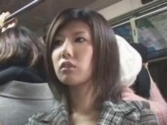 JAPANESE Horny GIRL ON THE BUS