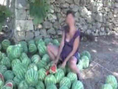 Outdoor Melon Self-satisfaction Nudist Giselda