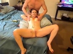 Sweet And Aged Mom With Big Breasts Fucks A Toy