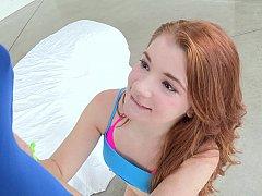 18 jaar, Grote lul, Jonge meid, Schattig, Dik, Realiteit, Student, Tiener