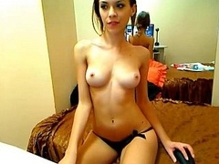 Beautiful Russian Valeria jacking off on camera