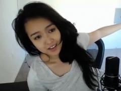 Amateur, Asiático, Chino, Masturbación, Solo, Camara web