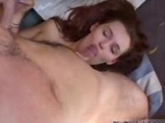 Redhaed sassy gets group-fucked outdoor