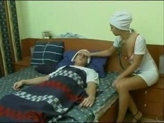 Nurse Make love With The Patie...