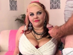 Super hot Adult bbw Buxom Bella explicit with obese fuck pole