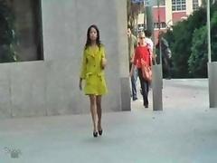 Jade Sexy Upskirt Public Asian