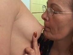 mom plays with...