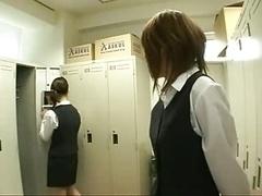 Japanese Kittens In Uniform Kissing 1