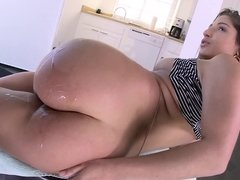 Fucking curvy girl Abella Danger outdoors with his big black cock