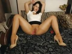 Orgasm in tights!