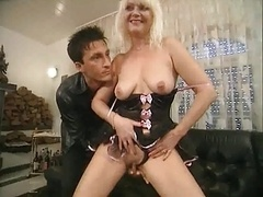 German Aged Anal casting 2
