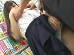Japanese teen pawed in bookstore