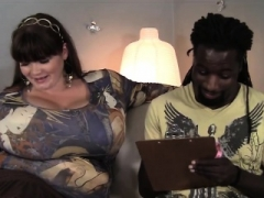 Breasty soccer mom pounded with black dick