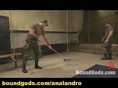 Military Humiliation in Bondage