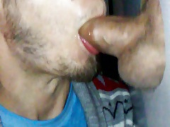 sucking married guy at glory hole
