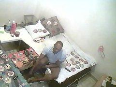 Black amateur at home