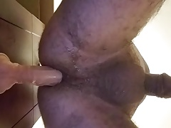 fucking my crazy sissy ass