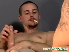 Smoking guys enjoy sex