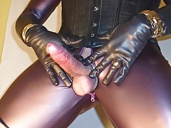 GLOVER - leather milking gloves