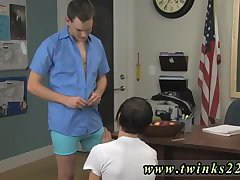 The examine begins with Aidan giving Dayn a blowjob
