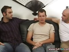 Beautiful cock suckers threesome