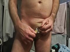 shaving my dick