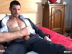 Hot gay rimjob and massage