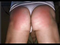 Web cam show: spank, fingers, pantys... a pussy hole