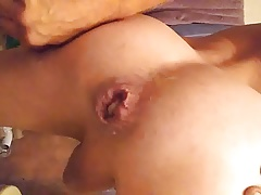 Huge gaping butthole