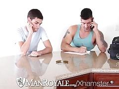 ManRoyale - Innocent massage turns into sloppy fuck