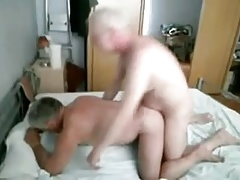 Two mature men fucking
