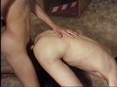 Blond guy drills his boyfriend