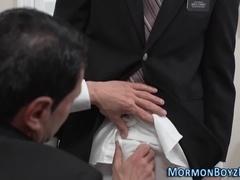 Mormon raw fucks elder