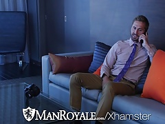 ManRoyale Student Wesley Woods fucked for graduation