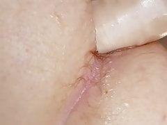Big dildo small ass