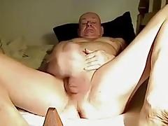 Older men masturbating hard