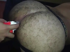 Eating Whip Cream From Ass