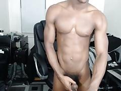 Cam show big black dick