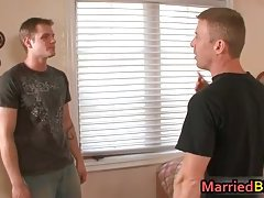 Married man gets his very first gay oral