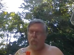 Sexy Naked Motorcycle Dad