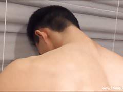 Cute Hunk Washing His Dick