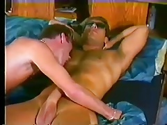 Vintage Sex on Bed